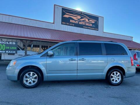 2008 Chrysler Town and Country for sale at Ridley Auto Sales, Inc. in White Pine TN