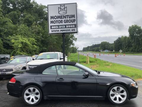 2005 BMW 6 Series for sale at Momentum Motor Group in Lancaster SC