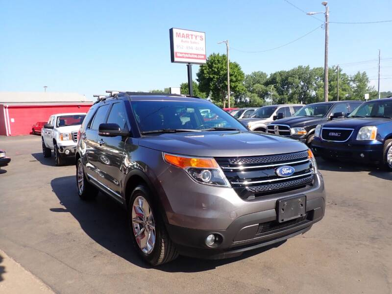 2011 Ford Explorer for sale at Marty's Auto Sales in Savage MN