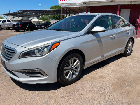 2015 Hyundai Sonata for sale at Fast Trac Auto Sales in Phoenix AZ