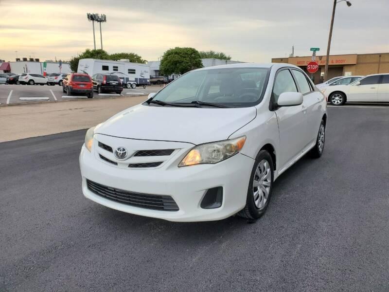 2012 Toyota Corolla for sale at Image Auto Sales in Dallas TX