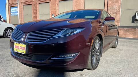 2013 Lincoln MKZ Hybrid for sale at Rocky's Auto Sales in Worcester MA