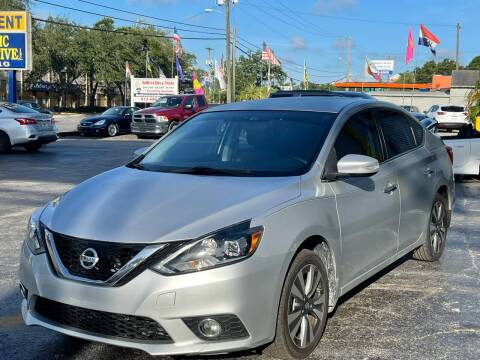2017 Nissan Sentra for sale at RoMicco Cars and Trucks in Tampa FL