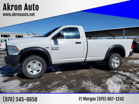 2015 RAM Ram Pickup 2500 for sale at Akron Auto in Akron CO