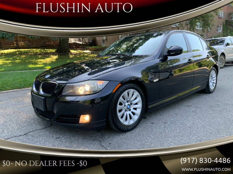 2009 BMW 3 Series for sale at FLUSHIN AUTO in Flushing NY