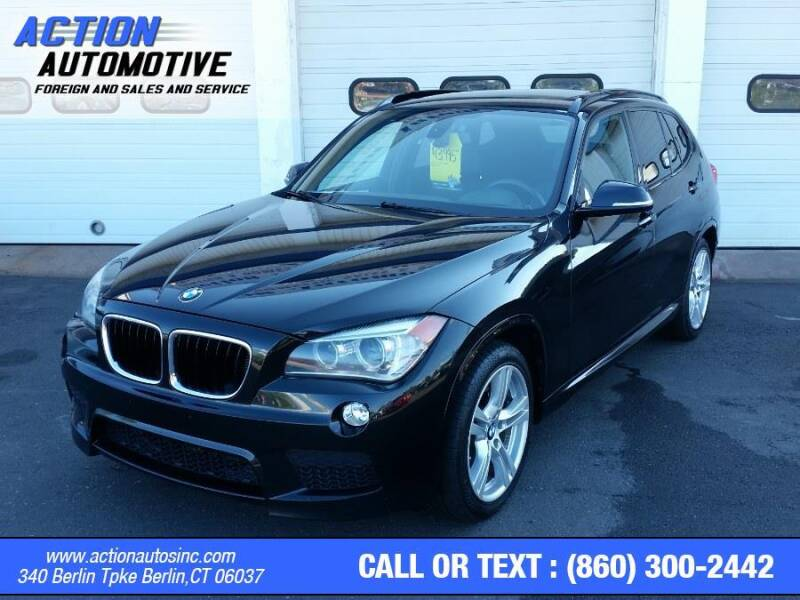 2013 BMW X1 for sale at Action Automotive Inc in Berlin CT