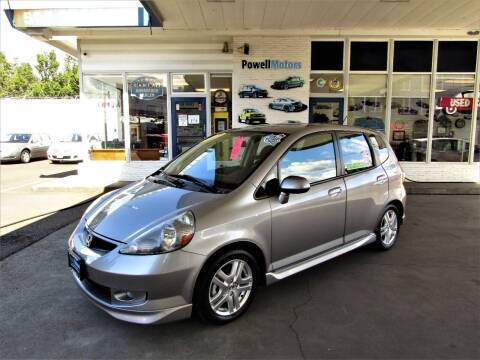 2007 Honda Fit for sale at Powell Motors Inc in Portland OR