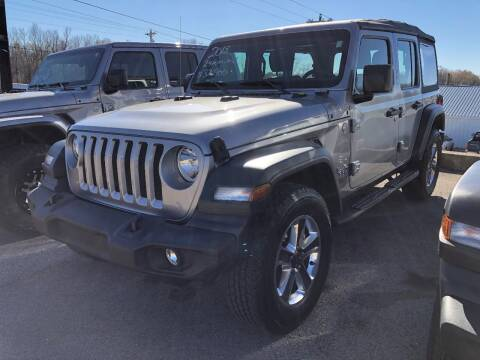 2018 Jeep Wrangler Unlimited for sale at Greg's Auto Sales in Poplar Bluff MO