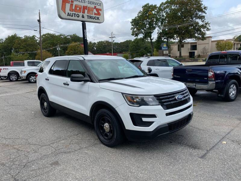 2018 Ford Explorer for sale at FIORE'S AUTO & TRUCK SALES in Shrewsbury MA