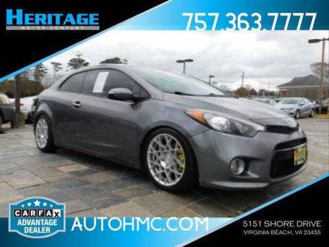 2014 Kia Forte Koup for sale at Heritage Motor Company in Virginia Beach VA