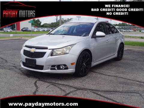 2011 Chevrolet Cruze for sale at Payday Motors in Wichita KS