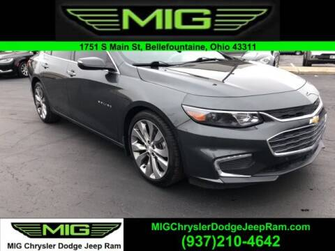 2016 Chevrolet Malibu for sale at MIG Chrysler Dodge Jeep Ram in Bellefontaine OH