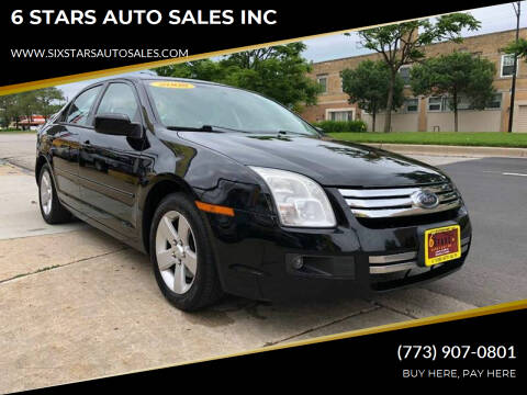 2008 Ford Fusion for sale at 6 STARS AUTO SALES INC in Chicago IL