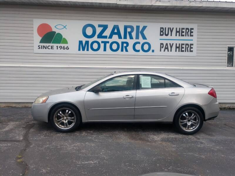 2006 Pontiac G6 for sale at OZARK MOTOR CO in Springfield MO