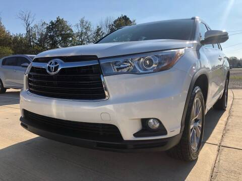 2015 Toyota Highlander for sale at A&C Auto Sales in Moody AL