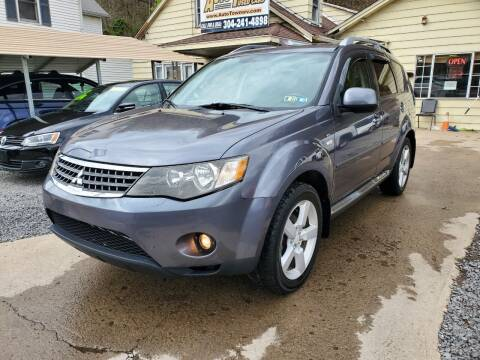 2009 Mitsubishi Outlander for sale at Auto Town Used Cars in Morgantown WV