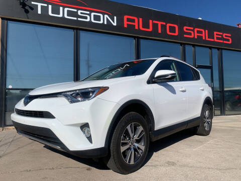 2018 Toyota RAV4 for sale at Tucson Auto Sales in Tucson AZ