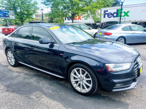 2015 Audi A4 for sale at J & M PRECISION AUTOMOTIVE, INC in Fort Collins CO