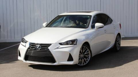 2017 Lexus IS 200t for sale at Private Club Motors in Houston TX