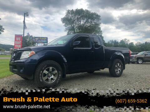 2011 Nissan Frontier for sale at Brush & Palette Auto in Candor NY