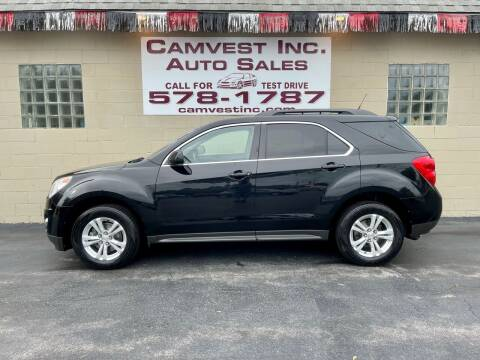 2011 Chevrolet Equinox for sale at Camvest Inc. Auto Sales in Depew NY