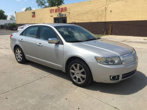 2007 Lincoln MKZ for sale at City Auto Sales in Roseville MI