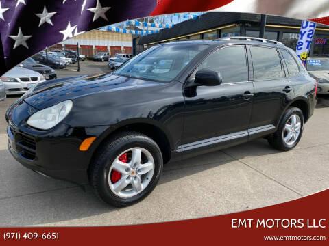 2004 Porsche Cayenne for sale at EMT MOTORS LLC in Portland OR