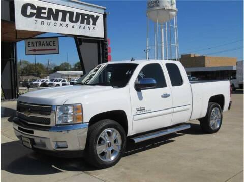2013 Chevrolet Silverado 1500 for sale at CENTURY TRUCKS & VANS in Grand Prairie TX