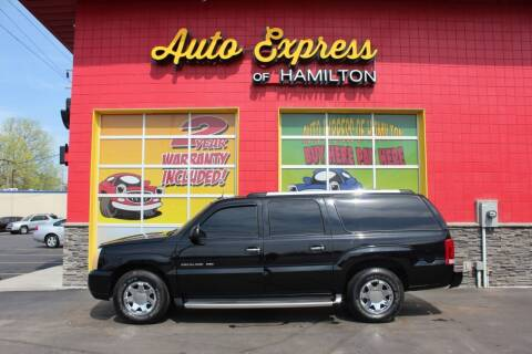 2004 Cadillac Escalade ESV for sale at AUTO EXPRESS OF HAMILTON LLC in Hamilton OH