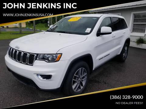 2018 Jeep Grand Cherokee for sale at JOHN JENKINS INC in Palatka FL