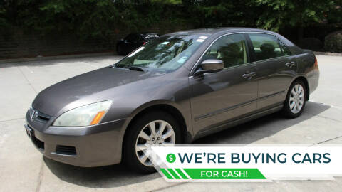 2007 Honda Accord for sale at NORCROSS MOTORSPORTS in Norcross GA