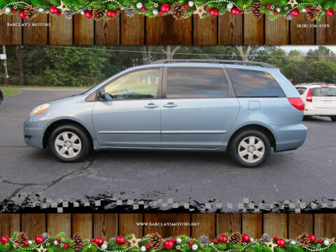 2006 Toyota Sienna for sale at Barclay's Motors in Conover NC