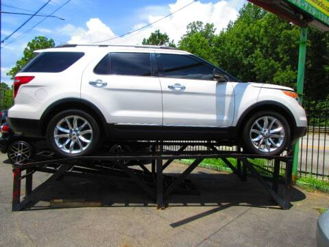 2012 Ford Explorer for sale at Garcia Trucks Auto Sales Inc. in Austell GA
