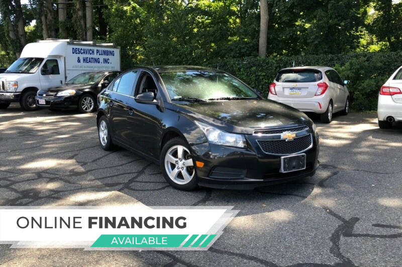 2013 Chevrolet Cruze for sale at QUINN'S AUTOMOTIVE in Leominster MA