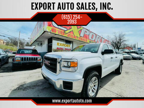2014 GMC Sierra 1500 for sale at EXPORT AUTO SALES, INC. in Nashville TN