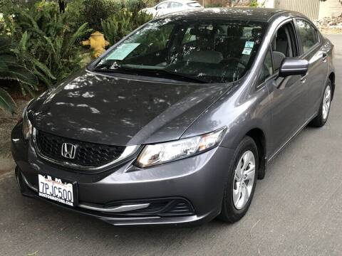 2015 Honda Civic for sale at Boktor Motors in North Hollywood CA