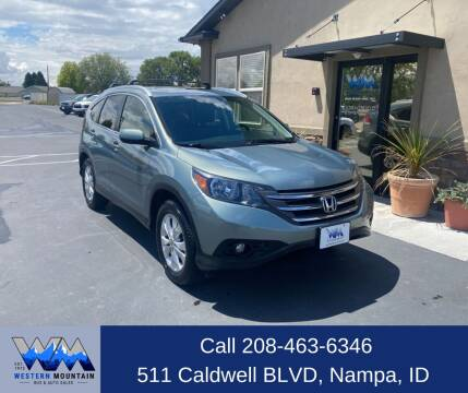 2012 Honda CR-V for sale at Western Mountain Bus & Auto Sales in Nampa ID