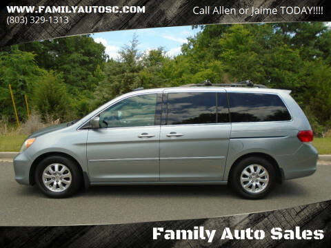 2008 Honda Odyssey for sale at Family Auto Sales in Rock Hill SC
