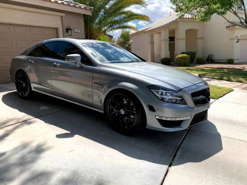 2012 Mercedes-Benz CLS for sale at Moody's Auto Connection LLC in Henderson NV