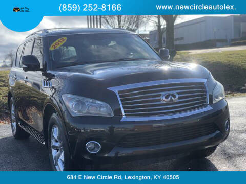2012 Infiniti QX56 for sale at New Circle Auto Sales LLC in Lexington KY