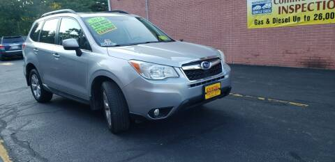2014 Subaru Forester for sale at Exxcel Auto Sales in Ashland MA