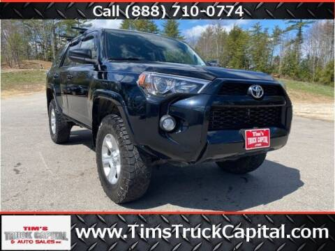 2016 Toyota 4Runner for sale at TTC AUTO OUTLET/TIM'S TRUCK CAPITAL & AUTO SALES INC ANNEX in Epsom NH