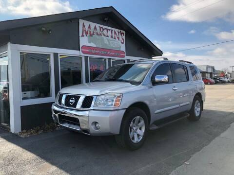 2004 Nissan Armada for sale at Martins Auto Sales in Shelbyville KY