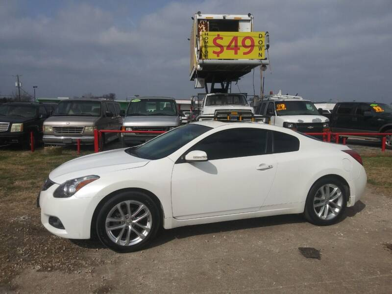 2012 Nissan Altima for sale at USA Auto Sales in Dallas TX