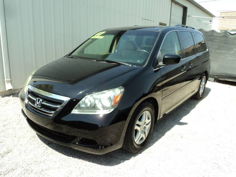 2007 Honda Odyssey for sale at DESERT AUTO TRADER in Las Vegas NV