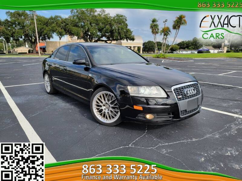 2007 Audi A6 for sale at Exxact Cars in Lakeland FL