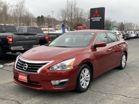 2014 Nissan Altima for sale at Midstate Auto Group in Auburn MA