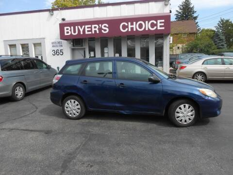 2005 Toyota Matrix for sale at Buyers Choice Auto Sales in Bedford OH