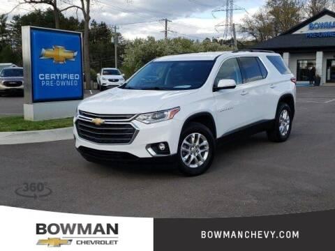 2019 Chevrolet Traverse for sale at Bowman Auto Center in Clarkston MI