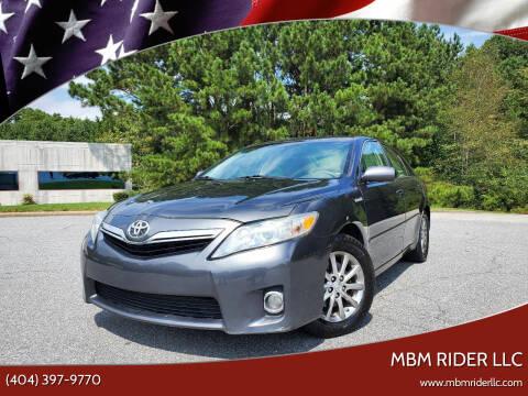 2011 Toyota Camry Hybrid for sale at MBM Rider LLC in Alpharetta GA